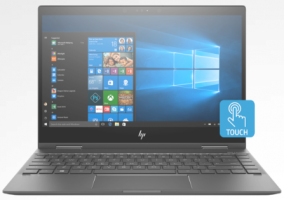 HP Envy x360 13.3 inch AMD Ryzen 8GB RAM
