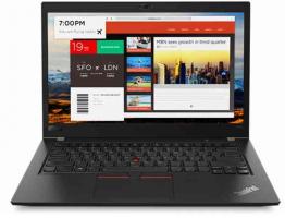 Lenovo ThinkPad T480s 14 Core i7 8th Gen 16GB RAM